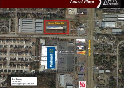 Laurel Plaza site